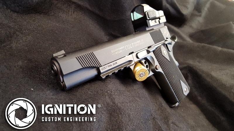 Colt 1911 custom pic rail Vortex Viper sights 2 – Ignition Custom