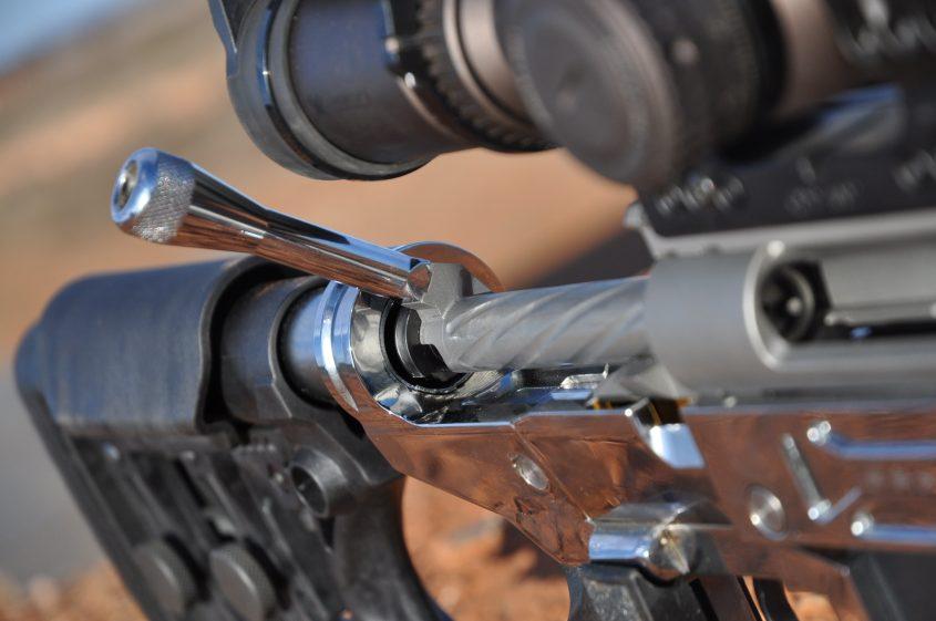 Australian PRS custom MANAEL rifle: Chrome Terminator T-1000
