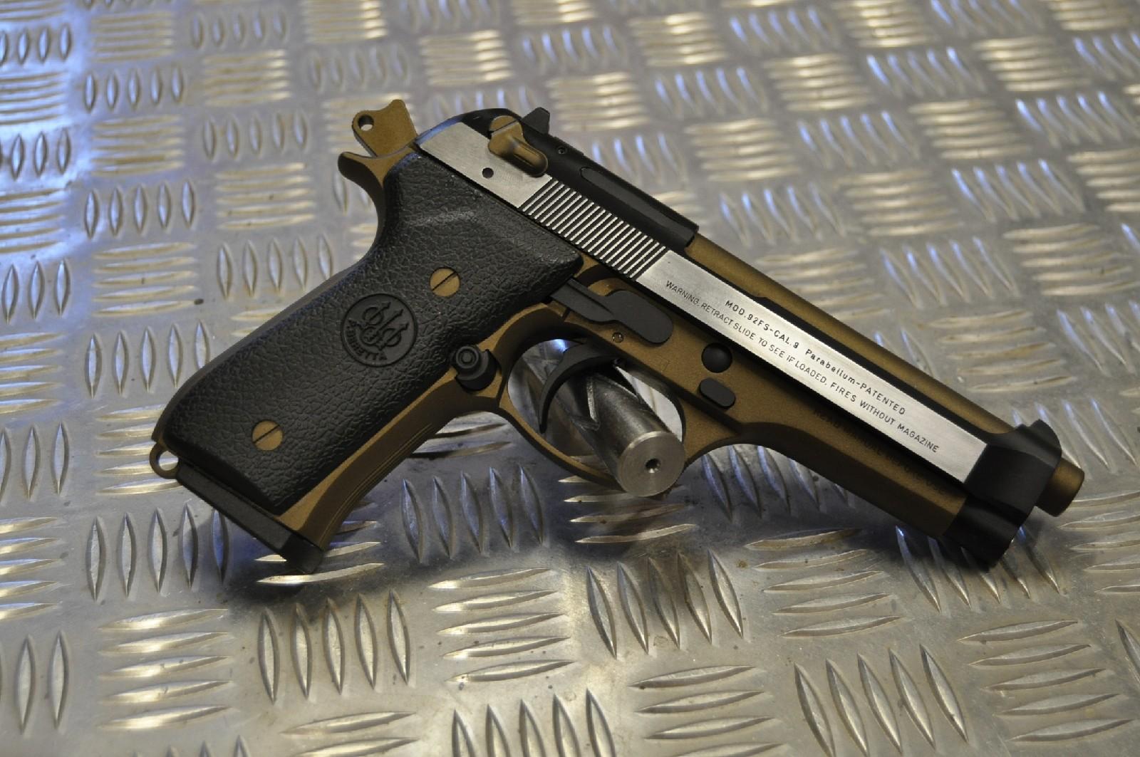 Beretta 92fs Duo Tone Ignition Custom Engineering