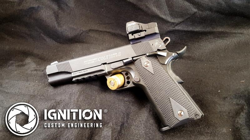 Pic rail brings new sights to Colt 1911 Rail Gun – Ignition Custom