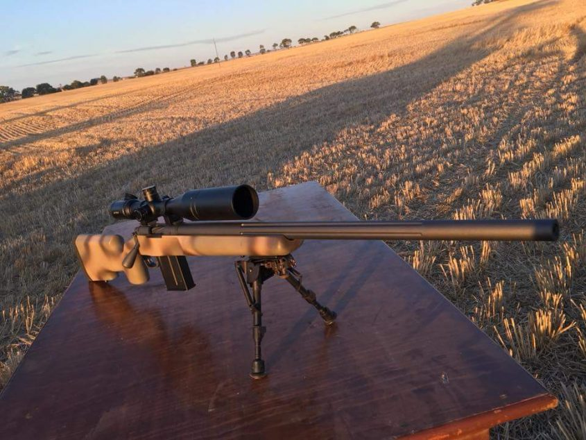South Aussie hunter in a Grayboe Stock – Ignition Custom
